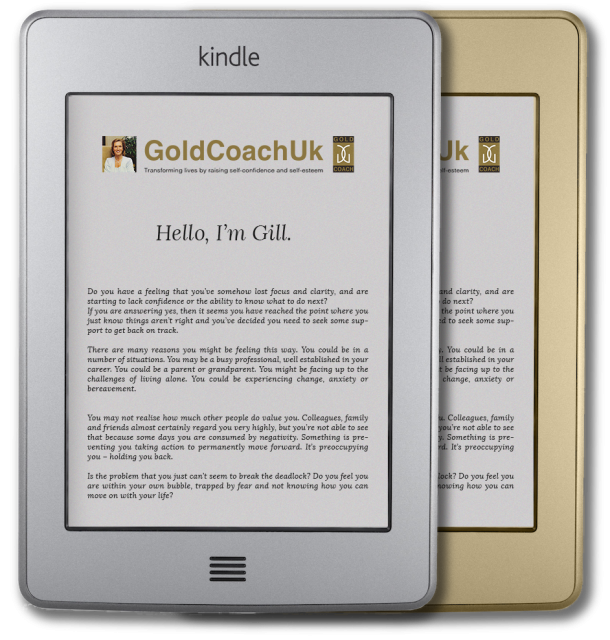 Kindle with GoldCoachUk